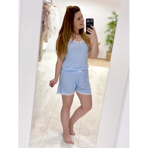 Pijama Lancy   Azul cielo