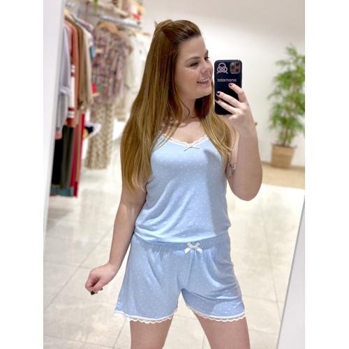 Pijama Lancy | Azul cielo
