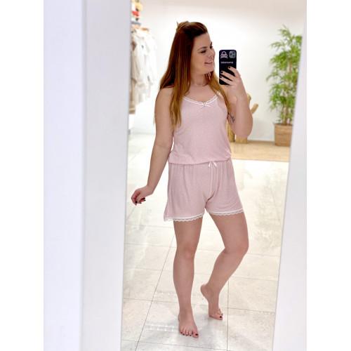 Pijama Lancy   Rosa