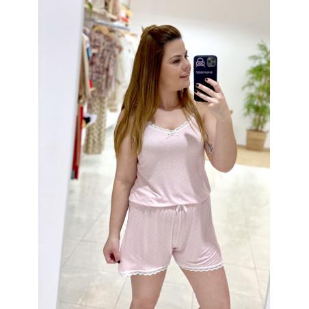 Pijama Lancy | Rosa