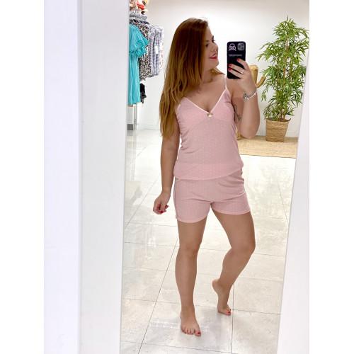 Pijama Triana | Rosa