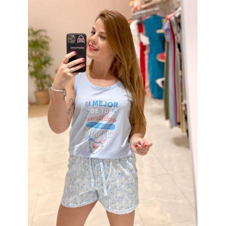Pijama Sentido del Amor | Azul