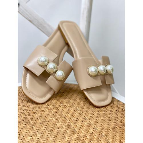 Sandalia Perla | Beige