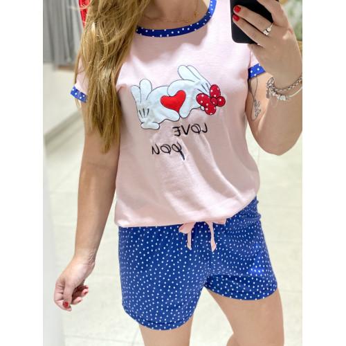 Pijama Topi Niña| Rosa