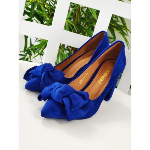 Zapato Stee/ Azul Electrico