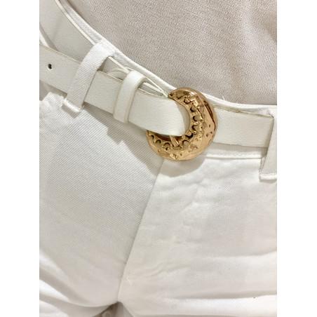 Cinturón Luna | Blanco