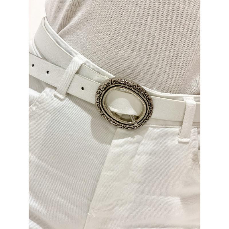 Cinturón Marco | Blanco