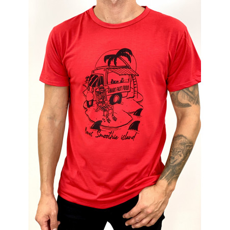 Camiseta Skeleton | Rojo