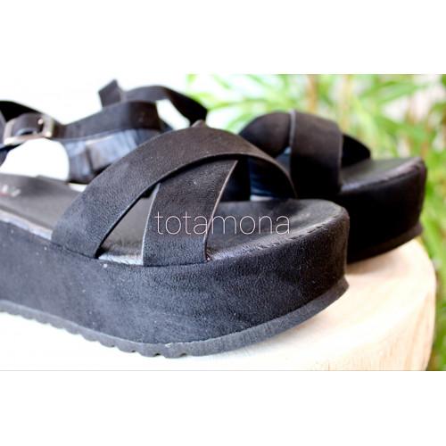 Plataforma Soft | Negro