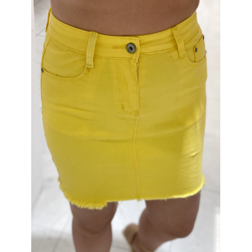 Falda Denim  Moss | Amarillo