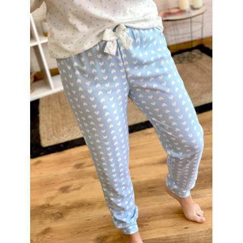 Pijama Erizo | azul