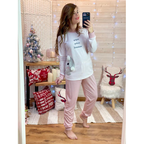 Pijama enjoy   Rosa