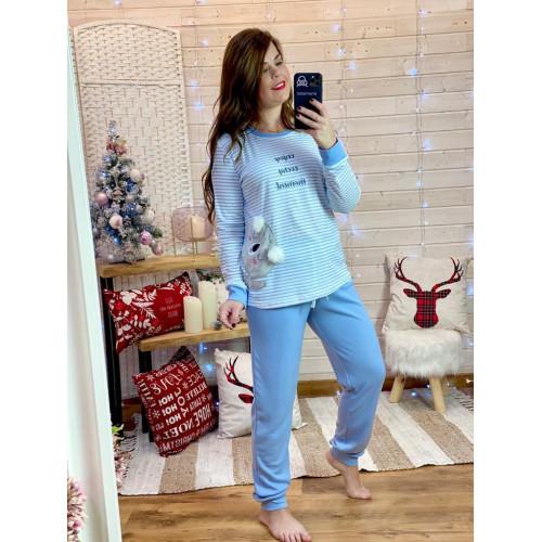 Pijama enjoy   azul