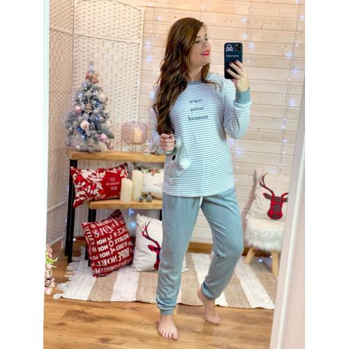 Pijama enjoy   Gris