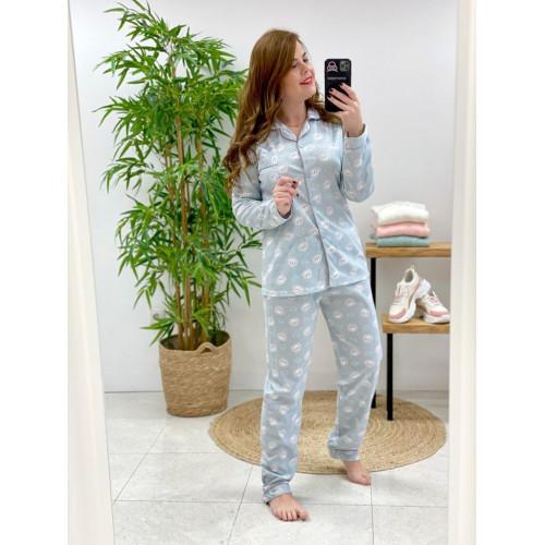 Pijama Osito | Verde agua