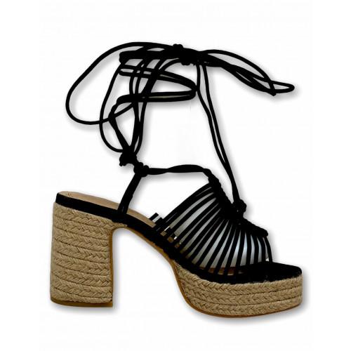 Plataforma cuerda | Negro