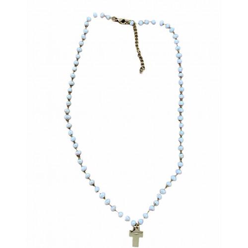 Collar cruz | Perla