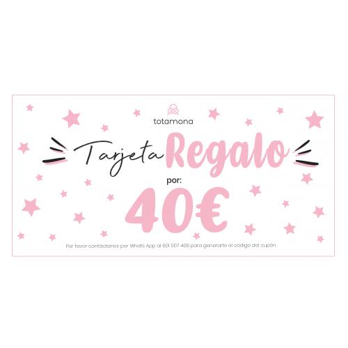 VALE REGALO 40€