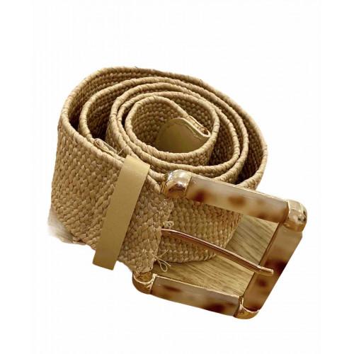 Cinturón rafia