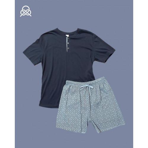 Pijama verano men |Marino
