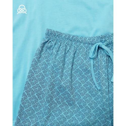 Pijama verano men |Aguamarina