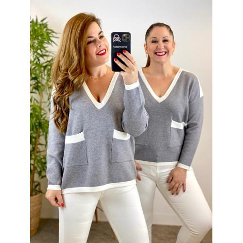 Suéter bolsicol